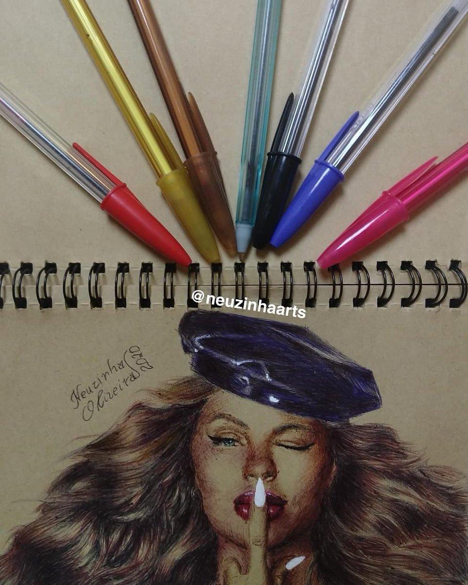 Desenho todo feito e colorido a canetas  qm quiser conhecer meu trabalho esse é meu Instagram :https://www.instagram.com/neuzinhaarts/ E qm poder dar RT nesse post pra fazer chegar até a @luisasonza agradeço muito #luisasonsa #pandora #meudesenho #desenhorealista #arte #neuzinhaarts #penpic.twitter.com/Z2wOCBd4H1