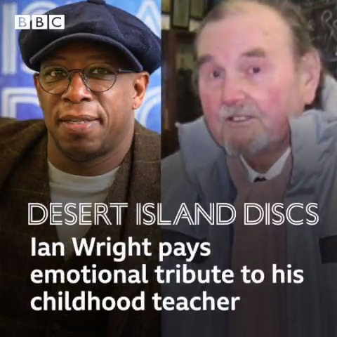 'I know he loved me': @IanWright0 on the man who changed his life – his teacher, Mr Pigden #desertislanddiscs with @laurenlaverne bbc.co.uk/programmes/m00…