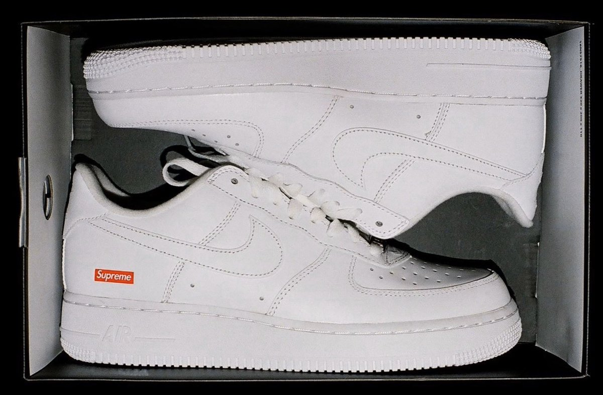 Supreme/Nike Air Force One Low Coming this Spring/Summer! What color do you like better?