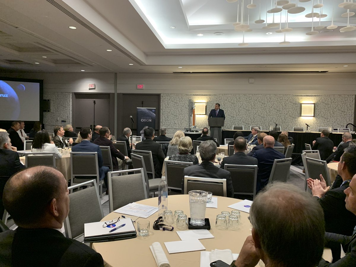 Thank you to the SLS-Orion-EGS Suppliers Conference for inviting me to join yall this past week! Bc of your hard work and dedication, Texas & America will continue to lead the world in space exploration. 🤠🚀🇺🇸
