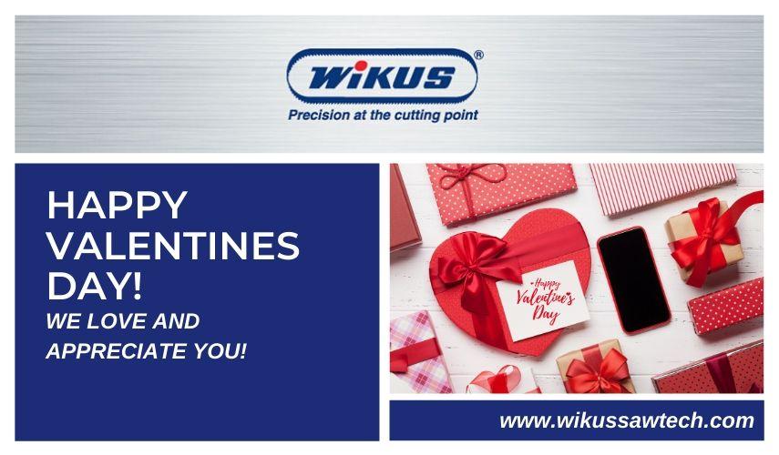 Happy Valentine's Day!  From Wikus Saw Technology   #wikus #valentinesday #germanengineering #bandsawblades #sharperbladespic.twitter.com/WfeFPNB74r