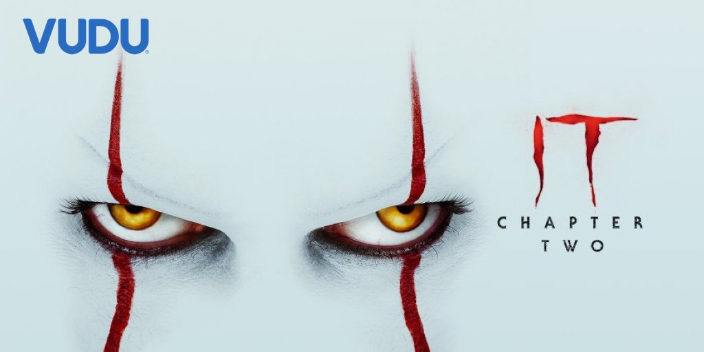 Happy #ValentinesDay! You know what the human ❤️️ needs most? BLOOD. Quote tweet this post with your CHILDHOOD FEAR and tag it #VuduGiveaway for a chance to win a SIGNED It: Chapter 2 poster.   Buy the film for $9.99:   Rules: