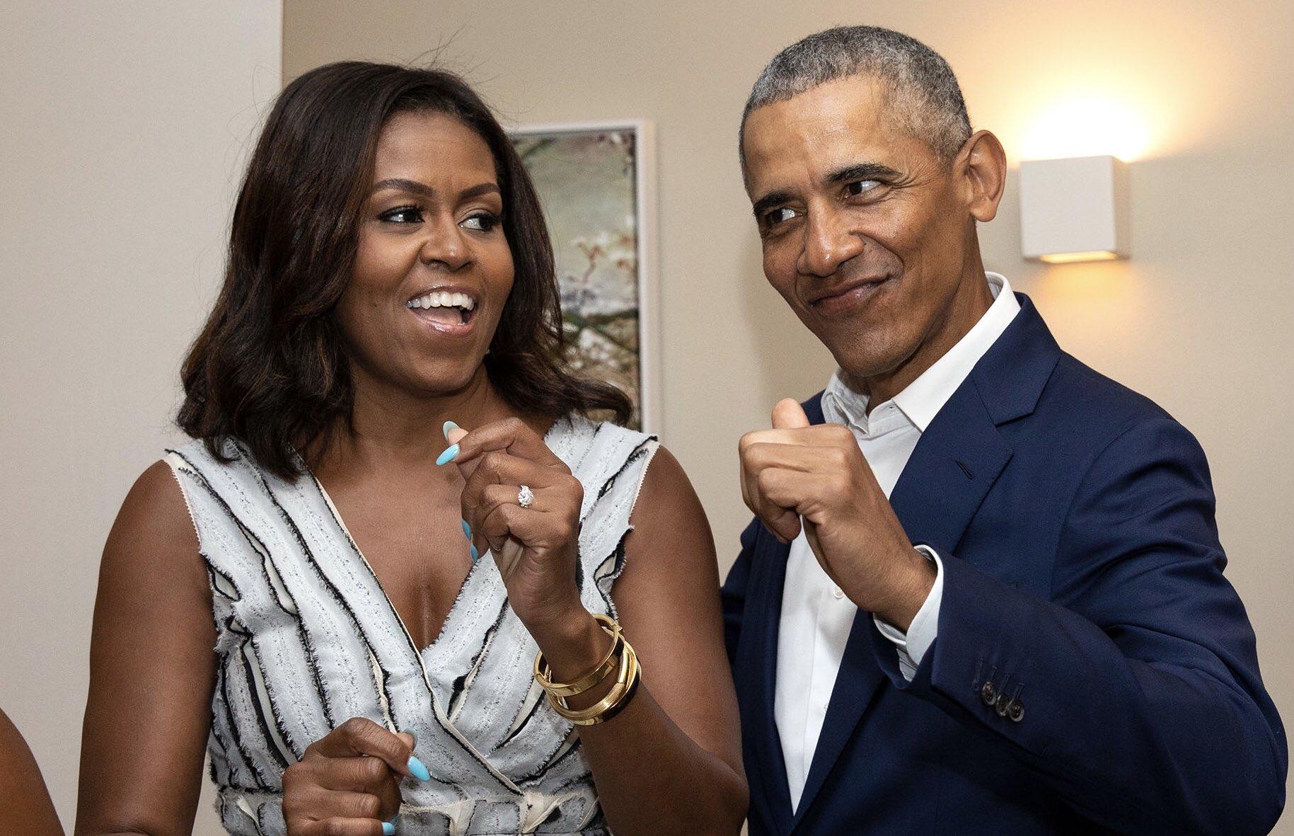 "Barack Obama on Twitter: ""Happy Valentine's Day to my forever dance partner, @MichelleObama.… """