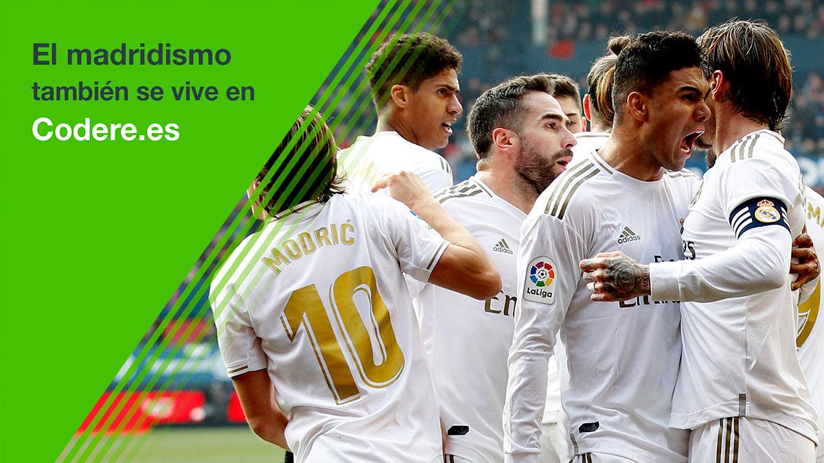 ✅ ¡La respuesta correcta es 2⃣-0⃣! 👏 ¡Enhorabuena a todos los que habéis acertado! ⚽ El fútbol también se juega en http://codere.es @CodereApuestas | #HalaMadrid