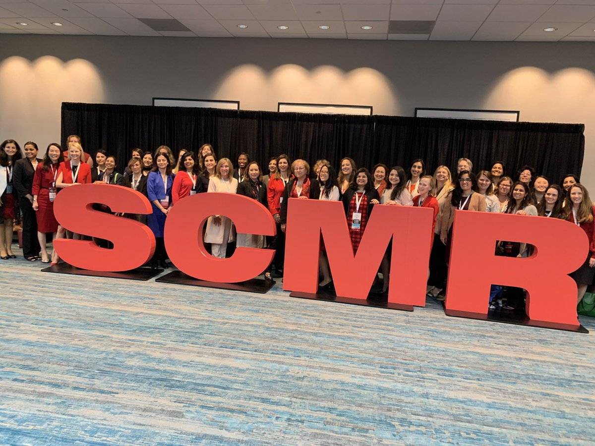 Women Power at its best ! #SCMR2020 @purviparwani #whycmr @onco_cardiology