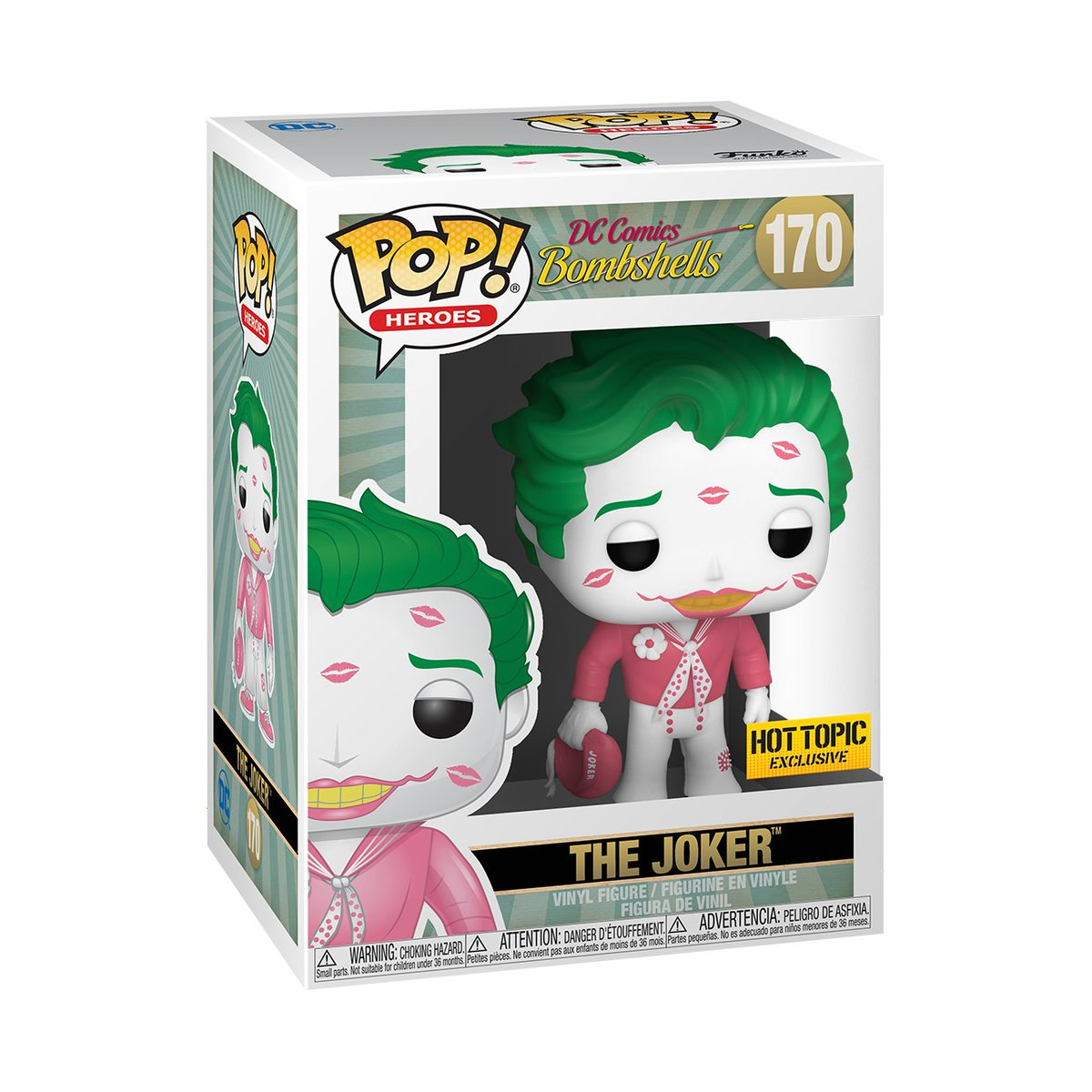 RT & follow @OriginalFunko for a chance to WIN @hottopic exclusive The Joker Pop! #Funko #Pop #FunkoPop #Giveaway #Joker #DC #Valentines