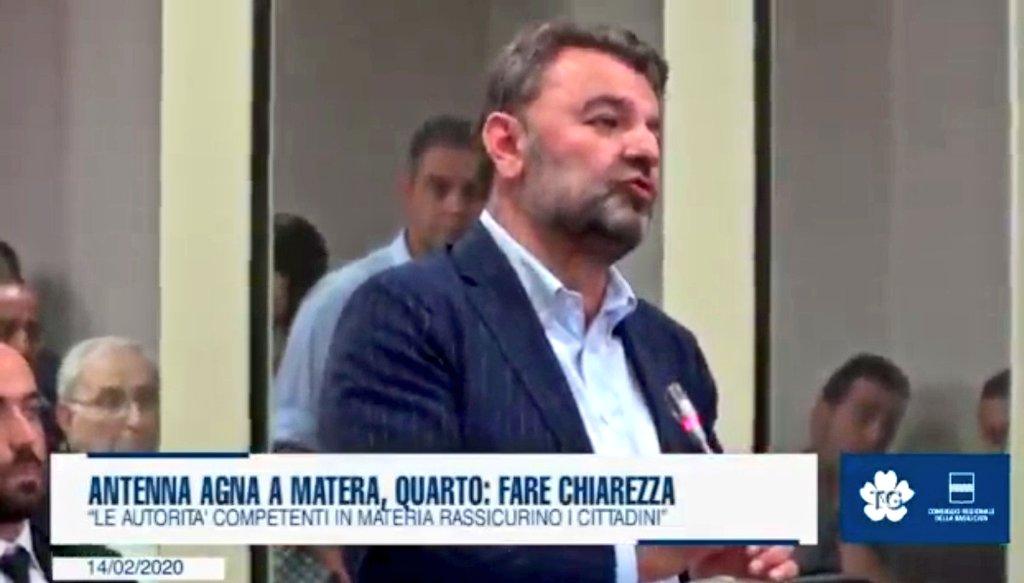 """Antenna Agna a #Matera, Piergiorgio Quarto: """"Fare ..."""