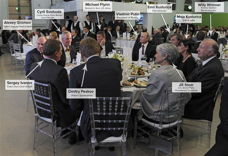 This Flynn ?  And hey, what's Jill Stein doing here ?
