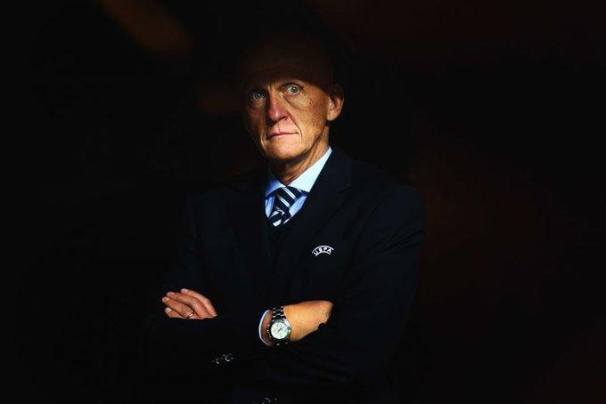 Happy 60th birthday to Pierluigi Collina No one messed around with this boss