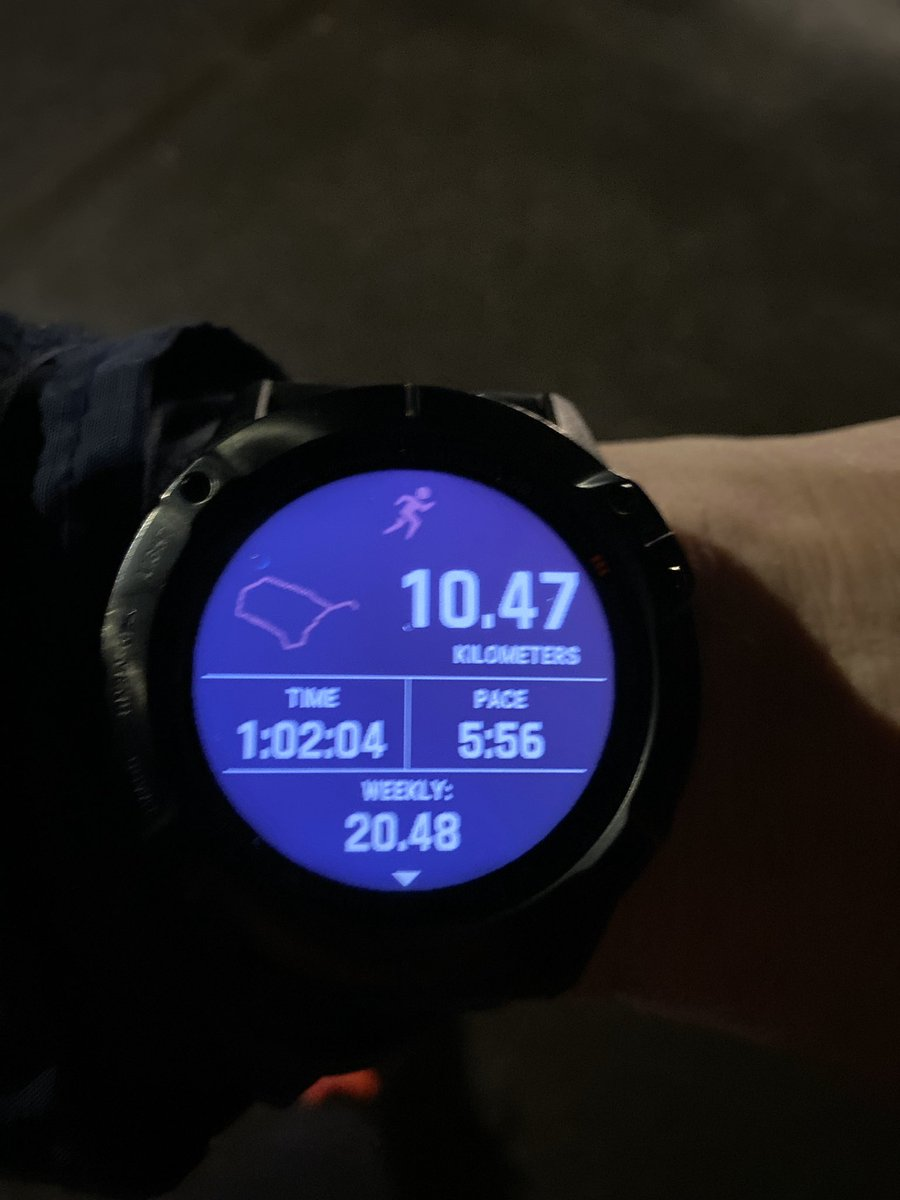 Horrible run hill reps.  Yuck  #training #triathlontraining #triathlon #ironmantriathlete #ironmantri #tri #ironman #trainingday #traininghard #garmin #fenix6 #running