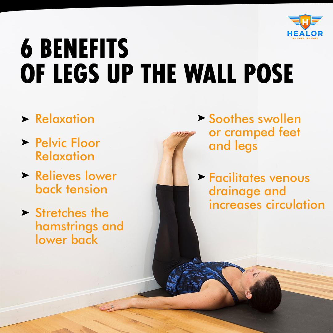 Legs Up The Wall Circulation