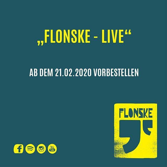 Eine Woche noch, dann könnt ihr unser Live-Album vorbestellen. Alle die das tun, bekommen übrigens schon direkt einen Song zu hören. Als kleinen Aperitif sozusagen  . . . . . . . #popmusik #musik #deutschemusik #konzert #konzertliebe #flonske #mus… https://ift.tt/37viJdspic.twitter.com/aKg1mMU6JK