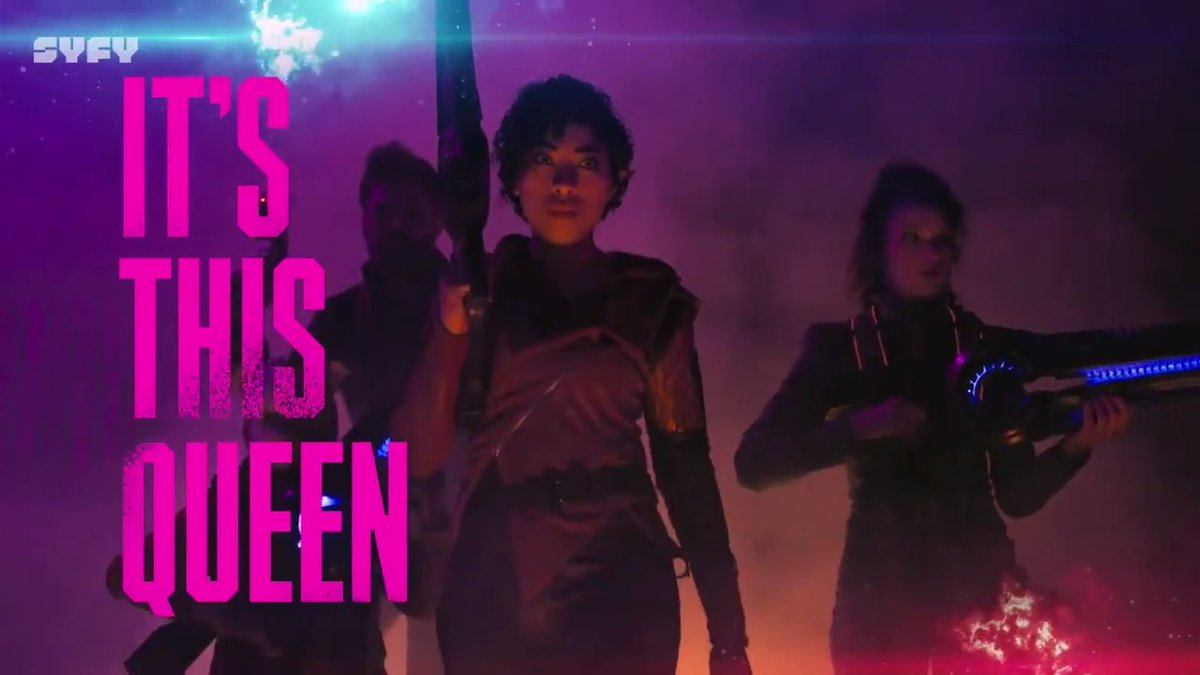 What you need to know about #VagrantQueen is that she's a little more vagrant than queen 😏See for yourself on March 27. Right here on SYFY.