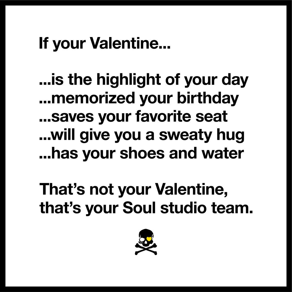 Happy Valentine's Day, #SoulFam 💛 https://t.co/DKNjqeucnF