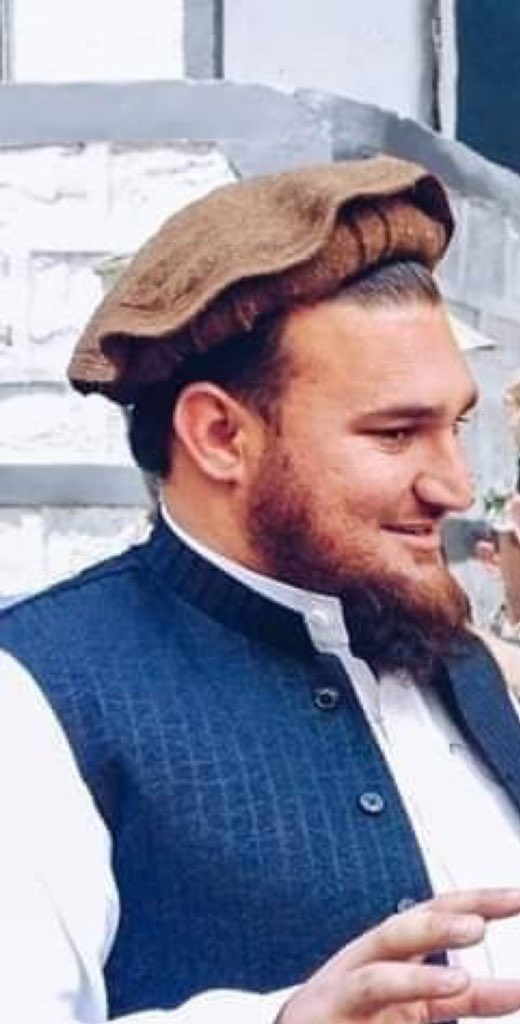 Ehsanullah Ehsan who had claimed terrorist attacks and mentioned them again in Geo TV interview is given safe passage, AlQaeda leader Osama Bin Laden (killed in Abbottabad) and thousands of terrorists killing Pakhtuns were your royal guests #PashtunLongMarch4Manzoor<br>http://pic.twitter.com/6wJRxqdduT