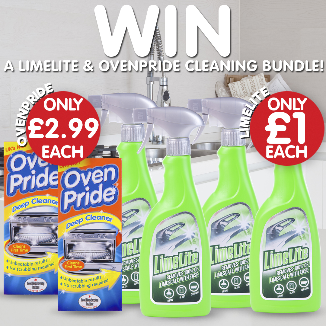 ✨ #Competition Time! ✨ Get ready super early for spring clean with a Limelite and Ovenpride cleaning bundle! Just RT, Follow & Reply with which room is your favourite to clean! 😁 Competition closes: 21st February Terms & Conditions: http://ow.ly/4oE750ylsqQ