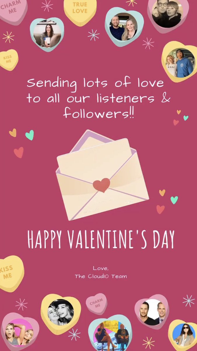 #HappyValentineDay from all of us at #Cloud10 to all of you! 💕💕 #FridayVibes #Valentines2020
