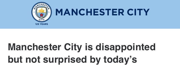 lmaooo City treating UEFA like how your mom talks about your worst cousin getting an MIP