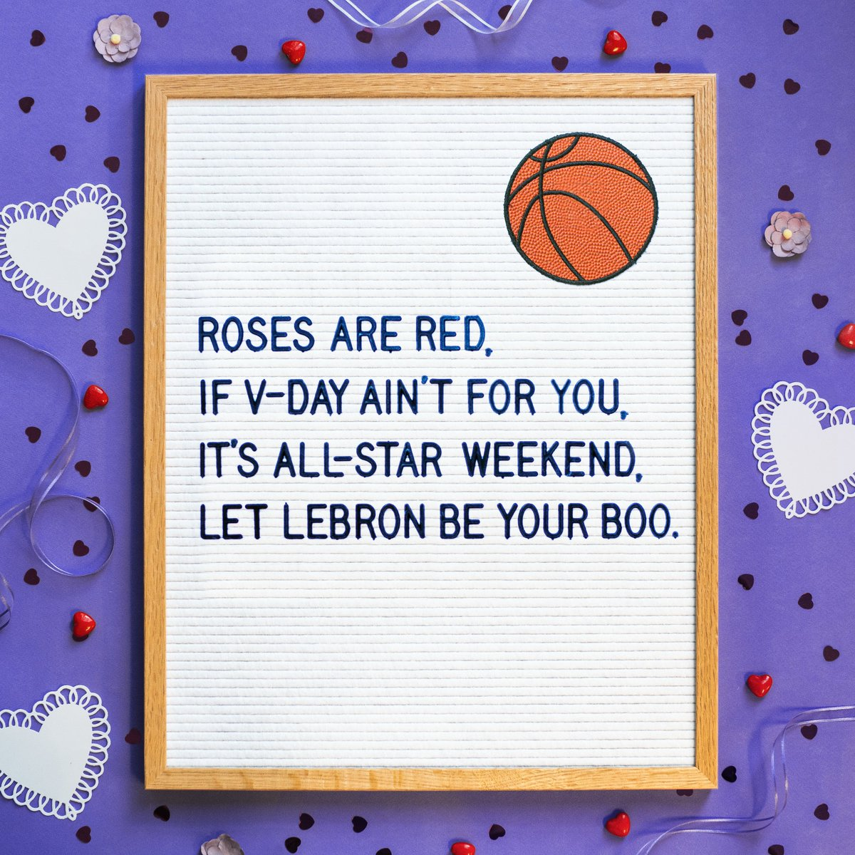 Spread love and throw down massive dunks this #ValentinesDay! 🏀❤️ #ValentinesDayMemes