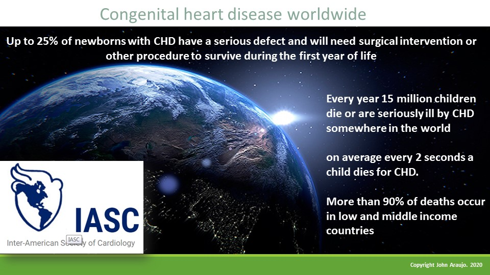#CHD high mortality in children under 1 year old in low and middle income countries #PediatriaSIAC @SIAC_cardio @SIAC_cardio @ACMrevista @PCHA_CHD