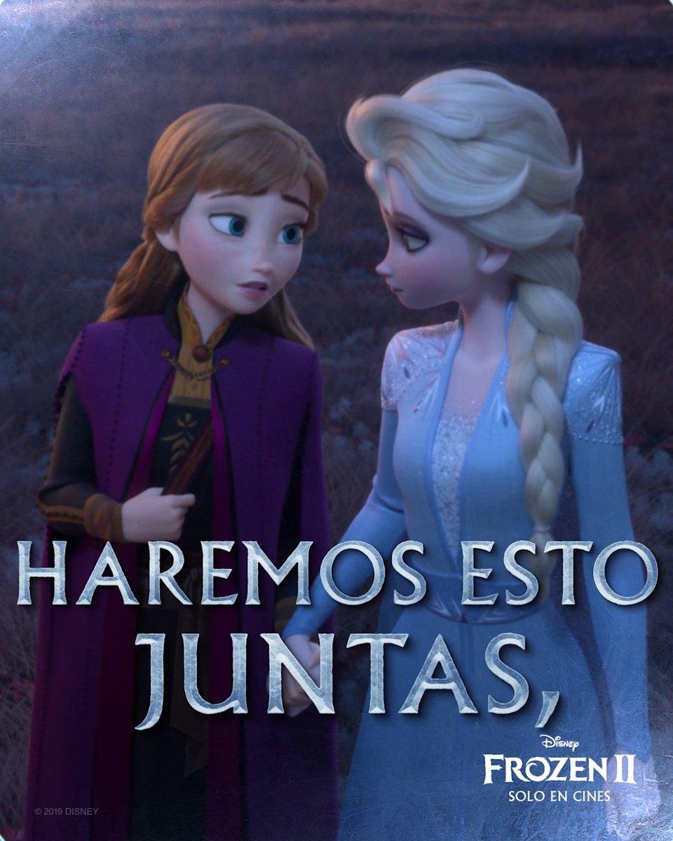 Alguien está llamando a Elsa y Anna… #Frozen2 🍁 ¡Solo en cines!