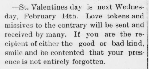 At least there's that! #SilverLining #ValentinesDay (1900) #ChronAm http://ow.ly/psko50y9cgp #Wisconsin #WisconsinNews #WisconsinHistorypic.twitter.com/v87W05n3o8