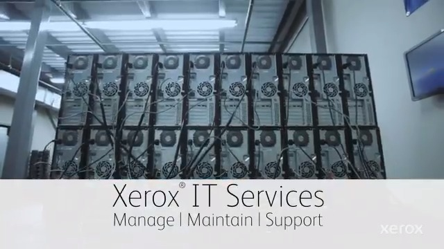 Image for the Tweet beginning: Xerox IT Services is expanding