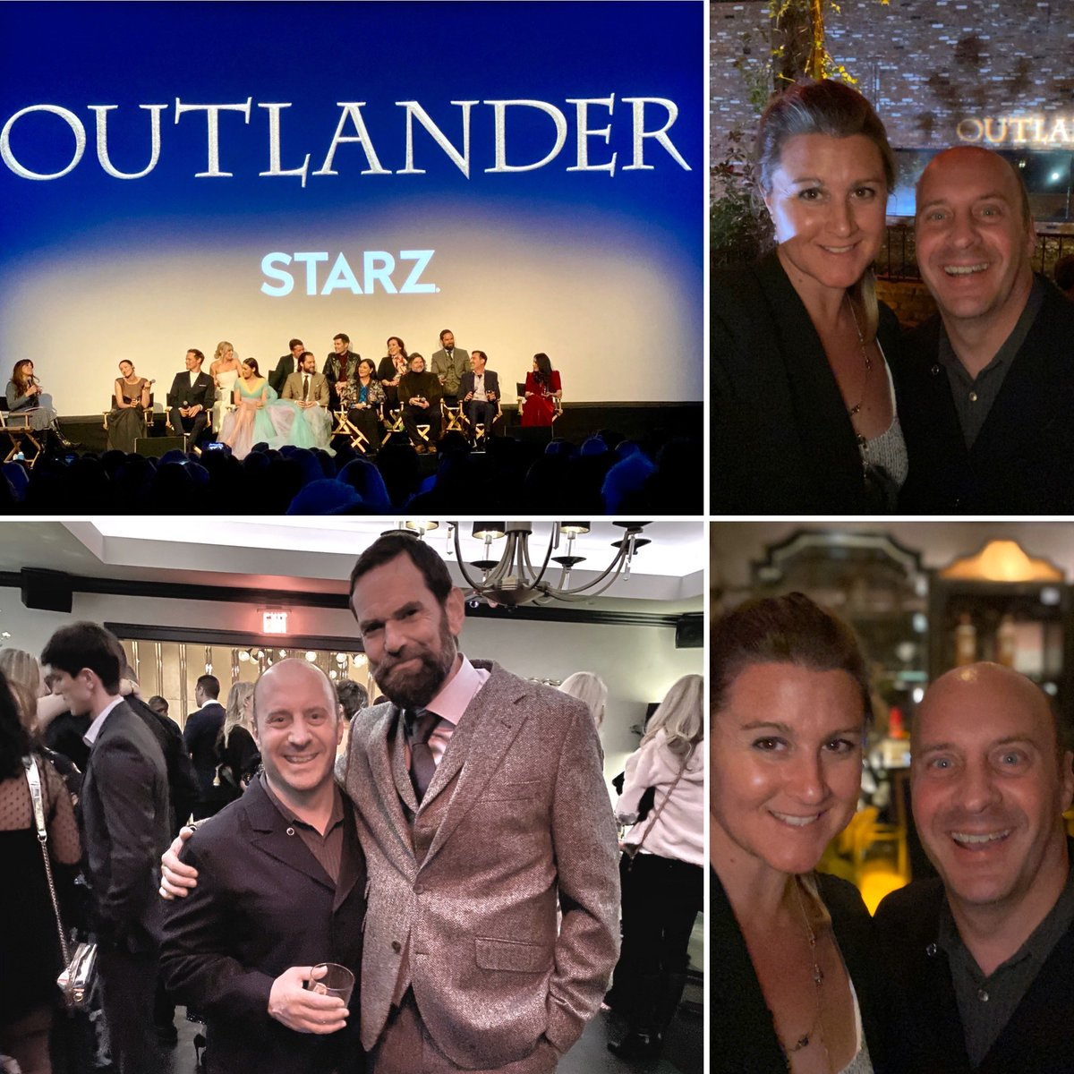 With my friend Ashley at the @outlander_starz #OutlanderSeason5Premiere last night! Met @caitrionabalfe @bearmccreary @rikrankin @edwardjspeleers & discussed the nature of human consciousness & perception with #DuncanLacroix  Thank you @RonDMoore & @TallShipProds for inviting me!<br>http://pic.twitter.com/9tnrvQIrr4 – à Hollywood Palladium