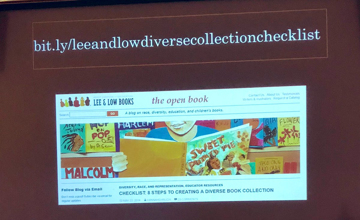 How do we create a diverse collection? 📚 ✅ out this great resource @donalynbooks