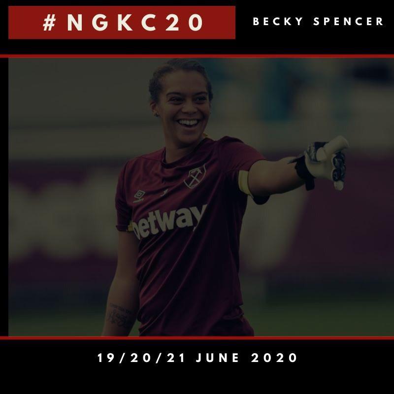 Register for the NGKC20 today 🧤 💭 📝 #NGKC20 #LearnInspireGrow #Goalsquare #BeckySpencer