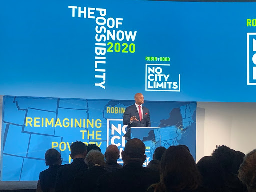 Thank you @iamwesmoore and @RobinHoodNYC for a thought provoking and insightful day reflecting on some of the country's most innovative poverty-fighting efforts. #NoCityLimits