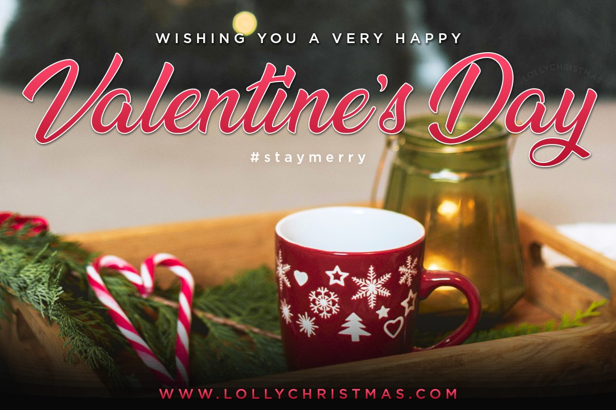 Happy Valentine's Day! Wishing you merriment and lots of love! #StayMerry pic.twitter.com/mpPwZYCXMo