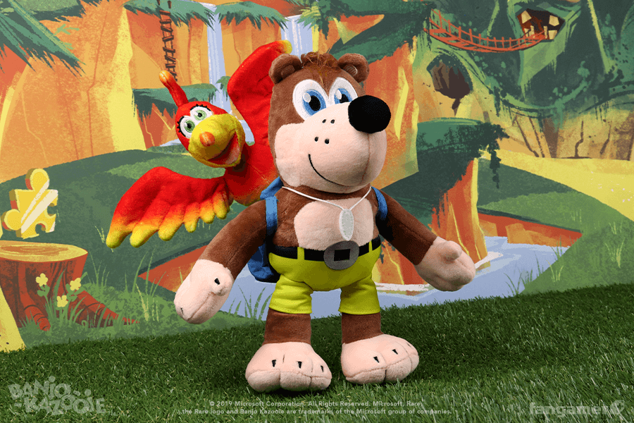 The Banjo-Kazooie plush is back in stock! More precisely—since they're fully detachable and Kazooie is 6 inches tall in her own right—our Banjo and Kazooie plushes are back in stock.   On sale now: