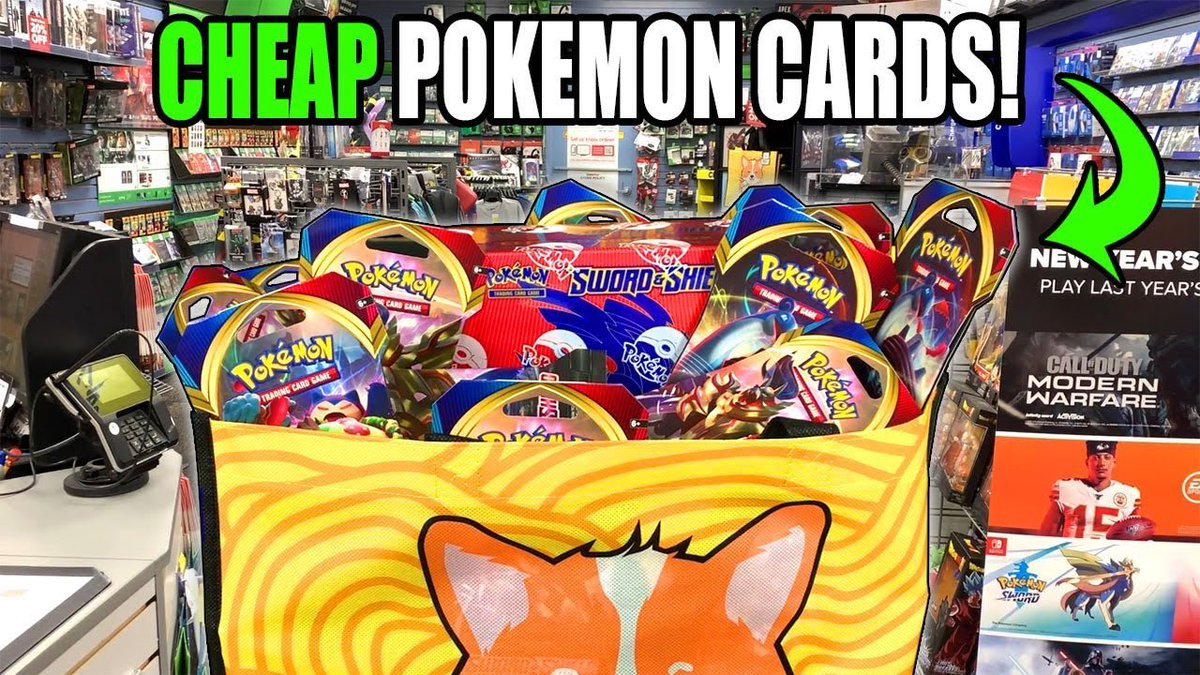 RUN! Cheap Pokémon Card Deal Alert! Check it out in today's video youtube.com/watch?v=5ENWIV…