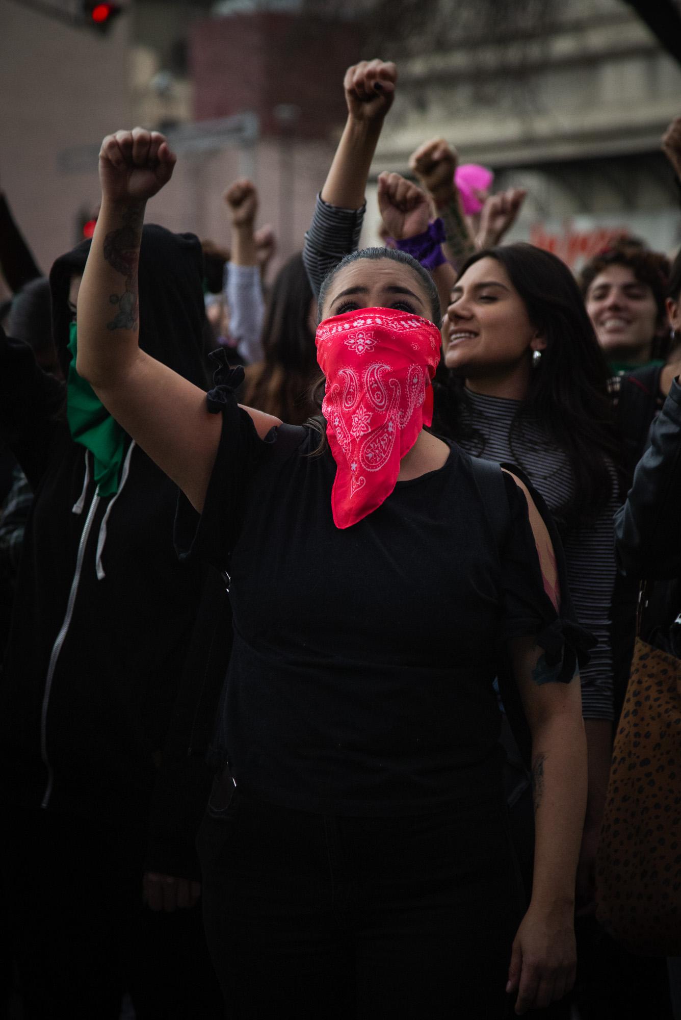 Ingrid Escamilla: mujeres protestan en CDMX