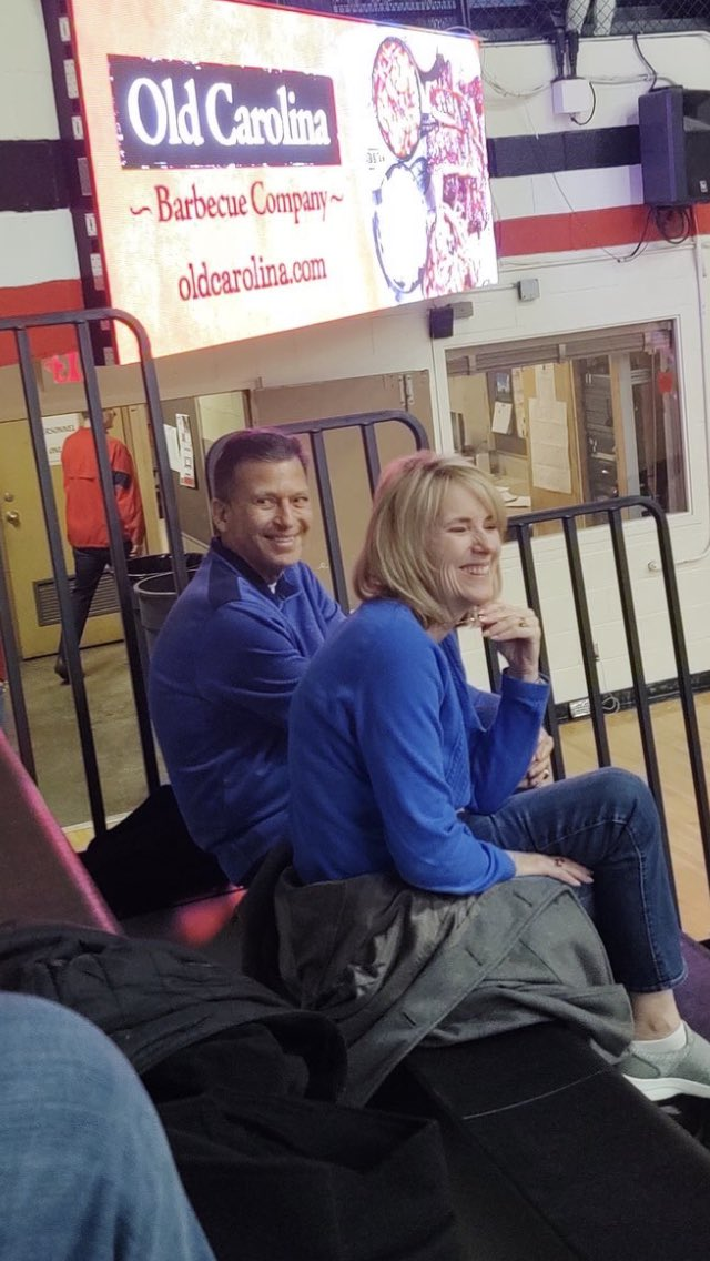 Thanks to Lake AD, Joe Bogdan, for the photo op! ALWAYS good to be in the gym!!