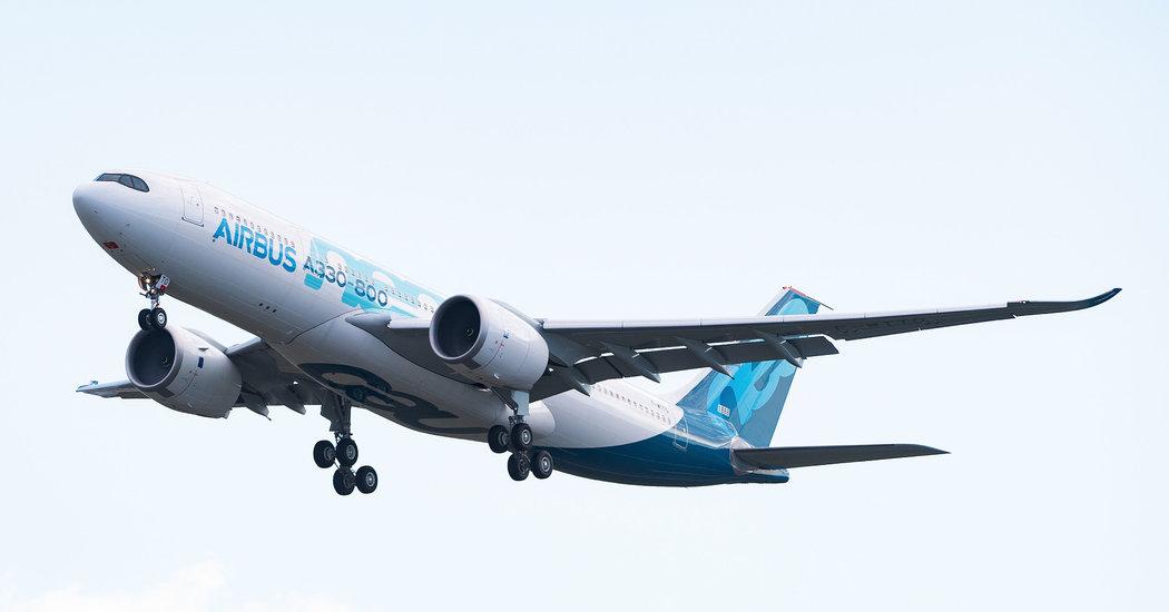 trump-administration-will-raise-tariffs-on-european-aircraft Photo