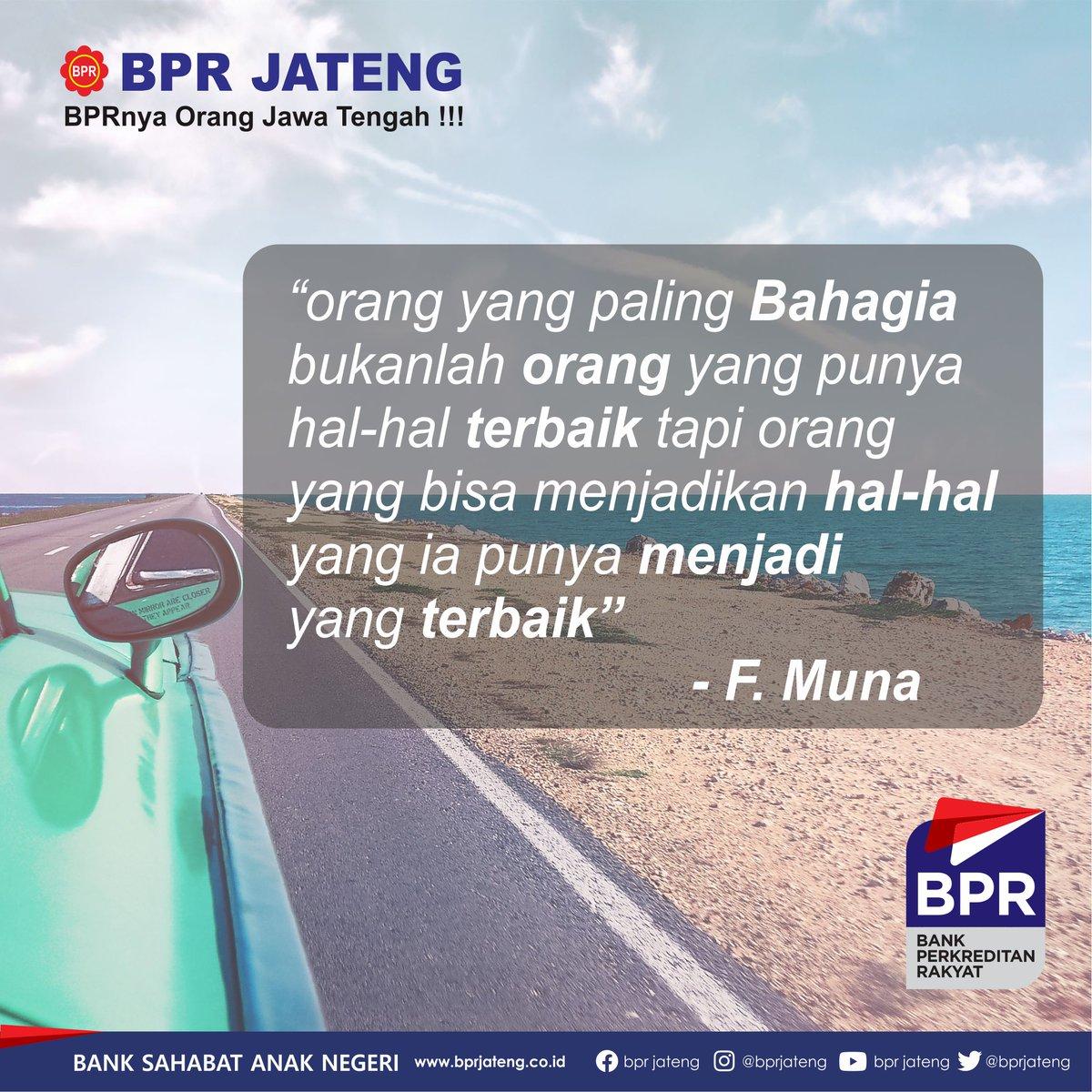 Jangan lupa bahagia... > > >  #motivasi #Quote #bprjateng #semarang #Hitssemarang #lokersmg #lokersemarang #Indonesia #KreditCepat #kreditmudah #Kreditmurah #Semangat #Kerjakeras #masadepan #finance #jatenggayeng #jateng #jawatengah #bank #bpr #bankperkreditanrakyat #jawapic.twitter.com/Mhp8LqRMHb