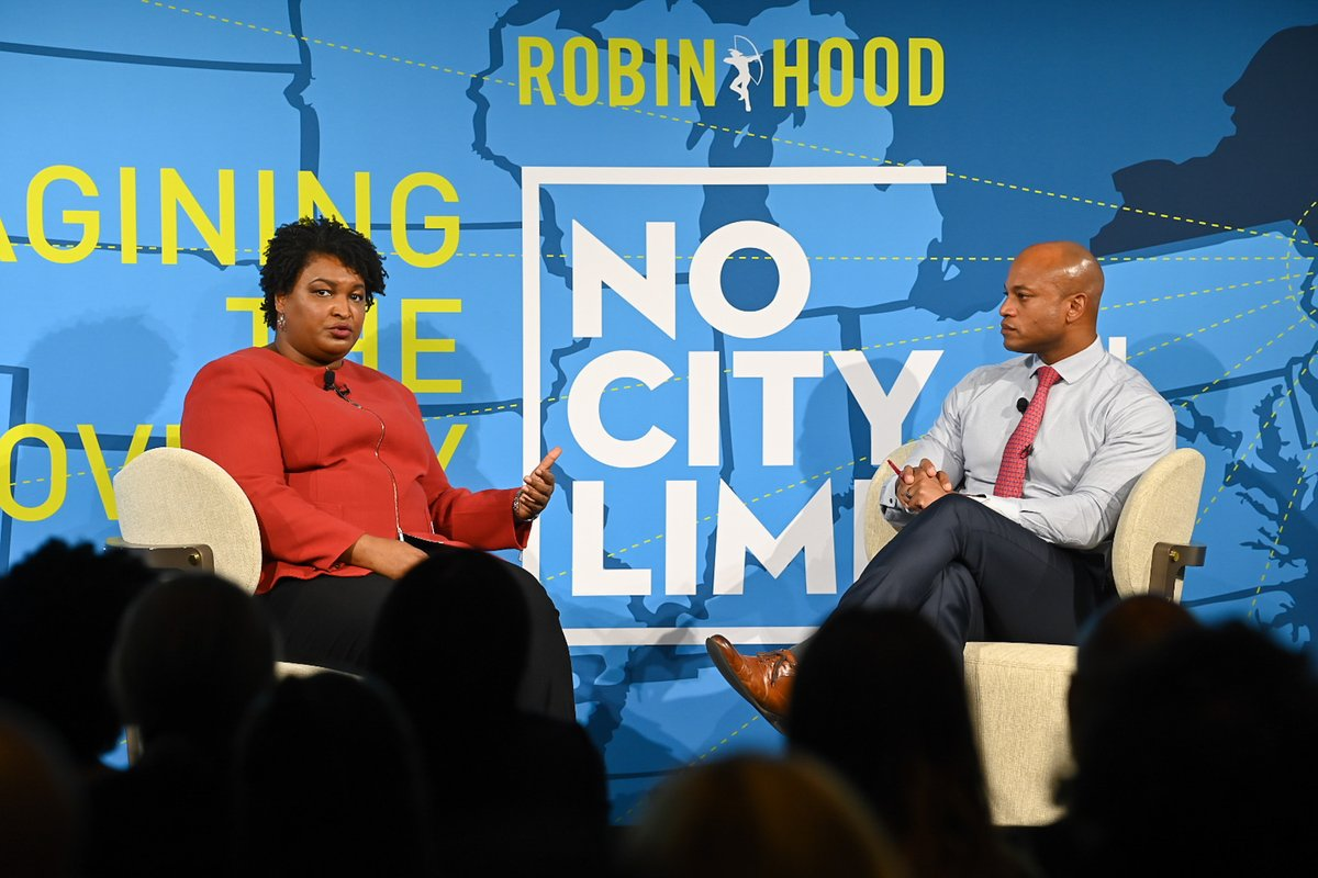 Yesterday's annual #NoCityLimits Conference brought together luminaries in the fields of academia, politics, & philanthropy, from @staceyabrams of @fairfightaction to Nobel Prize Laureate Esther Duflo of @JPAL to @PlannedParenthood Acting President & CEO Alexis McGill Johnson.