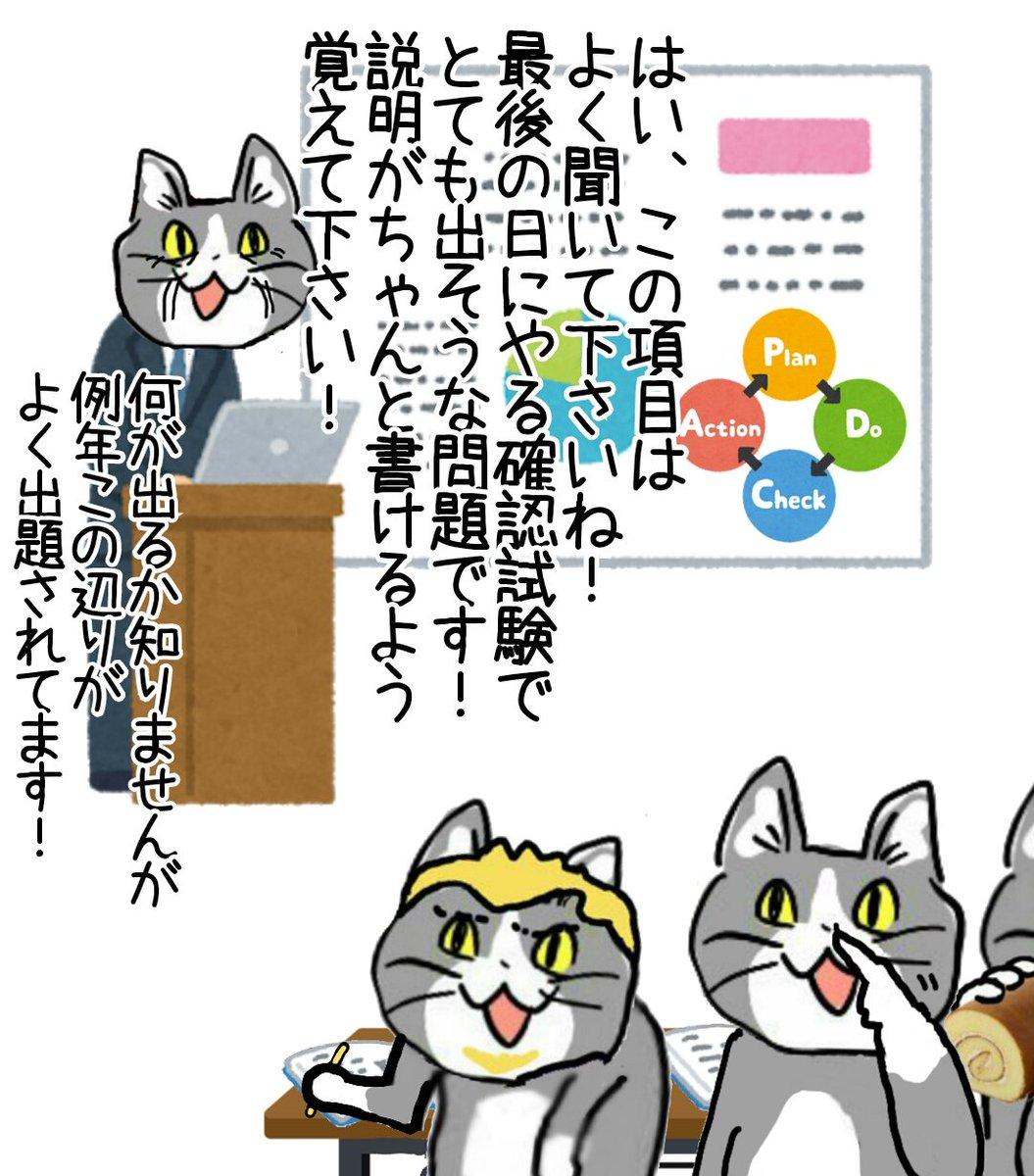 現場系の講習会でよくあるやつ #現場猫