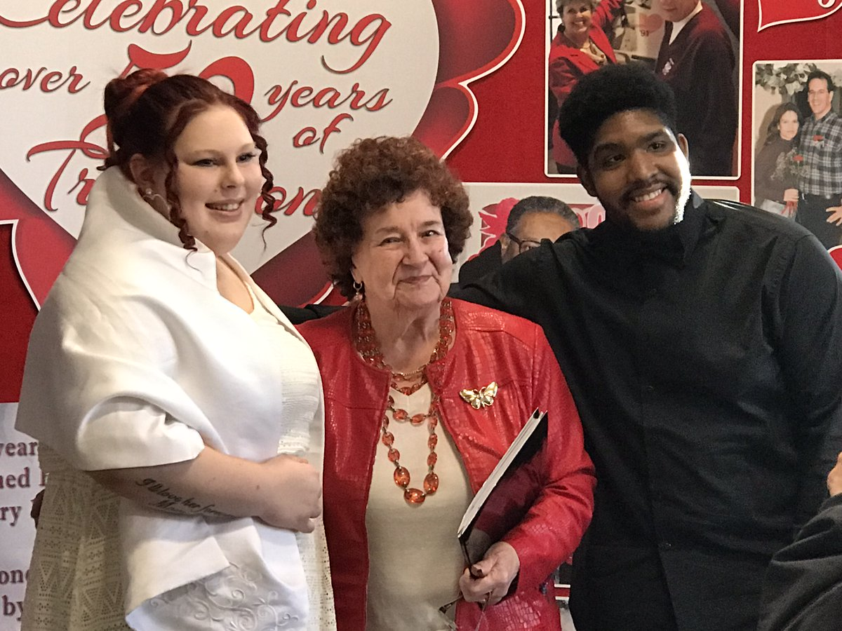 Our 4th wedding was a stunner! Special thanks to Anita Mips who donates her time and Justice of the Peace services each year for the beautiful couples that fill town hall with love each Valentine's Day.#valentines2020 #windsorloveslove #freemarriagelicenses #thetraditioncontinues