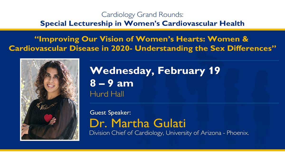Next week! @DrMarthaGulati #WomenHeartHealth Spread the word. @HopkinsMedicine