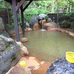 Image for the Tweet beginning: #平湯の湯   #平湯民俗館 に併設された #露天風呂 。