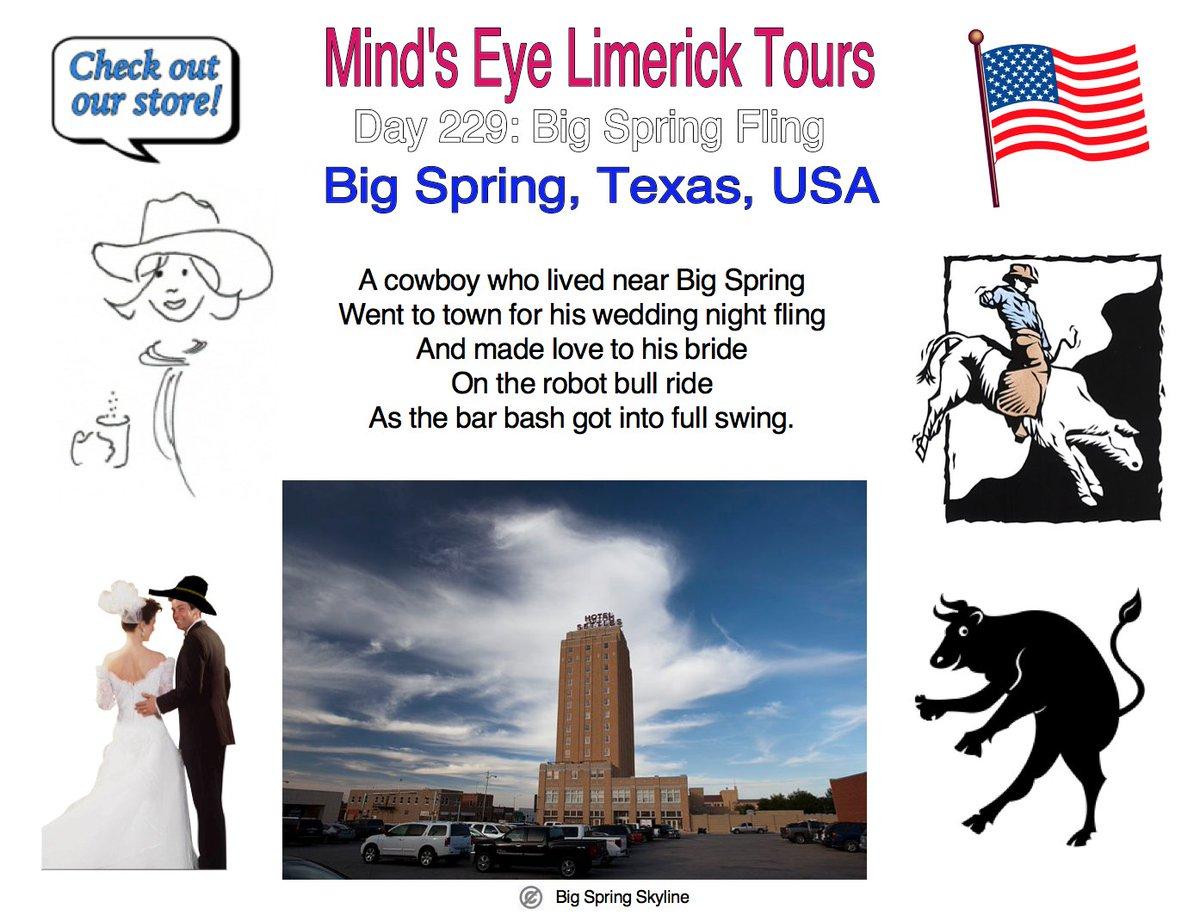 #Limerick #entertainment #humor #fun #BigSpring #Texas #mechanicalbull #wedding #robot #bull http://mindseyelimericktours.com/?p=1495 http://www.zazzle.com/mindseyelimericktour…pic.twitter.com/U8oiiG97JJ