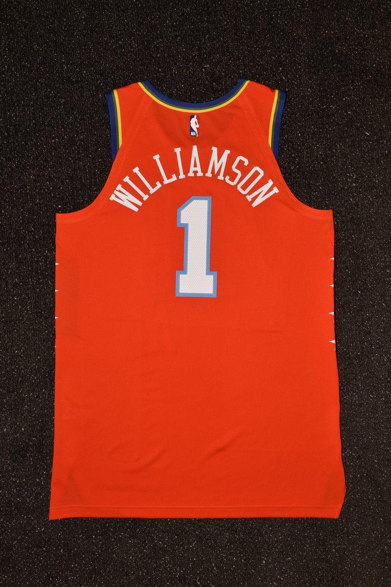 💪 @Zionwilliamson's #NBARisingStars jersey