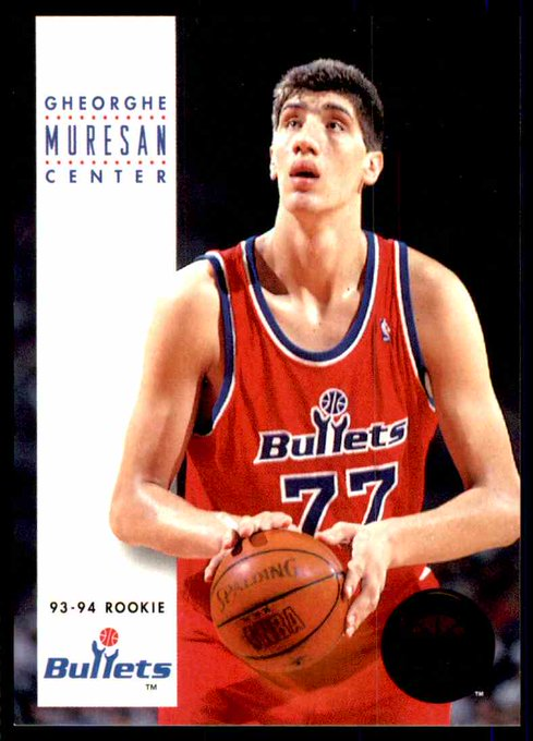 Happy Birthday Gheorghe Muresan!  Throw down a ridiculously tall athlete (7-foot or taller)!