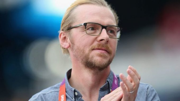 Happy birthday to Simon Pegg, who is 50 today.