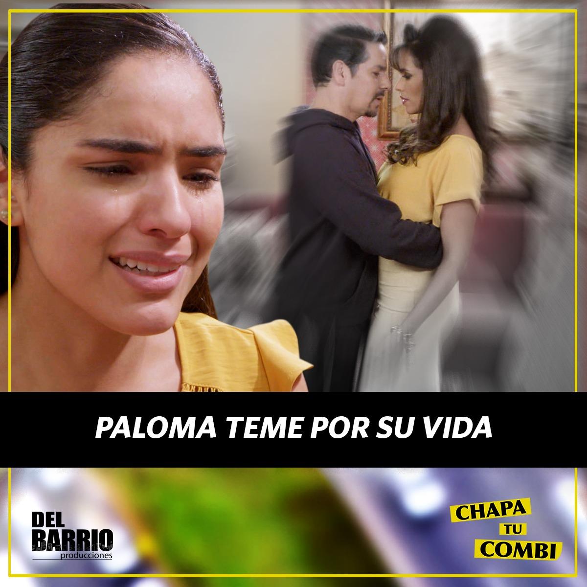 ¡IRÁN POR ELLA! Paloma estará aterrada por lo que puedan hacerle Javiera y Salomón #Chapatucombipic.twitter.com/PvKuPME2s5