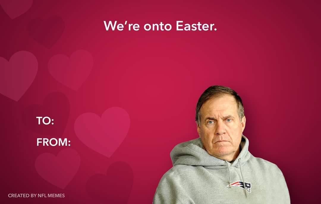 Best Valentines I saw today @Patriots @Mets @BobsBurgersFOX #HappyValentineDay #HappyValentines #LoveisLove #HugTight #SmileBig pic.twitter.com/NqA7FEqugu
