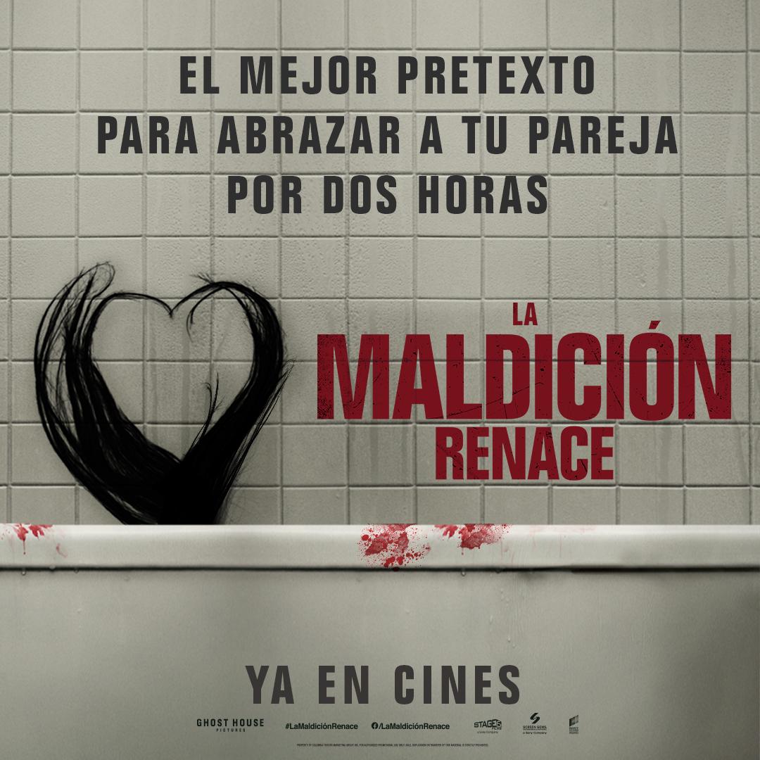 Este #SanValentin siente en pareja 💘 #LaMaldicionRenace en Cinemas Procinal.